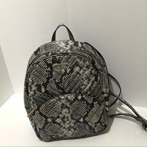 🆕 Aldo Snake Print Mini Backpack Purse